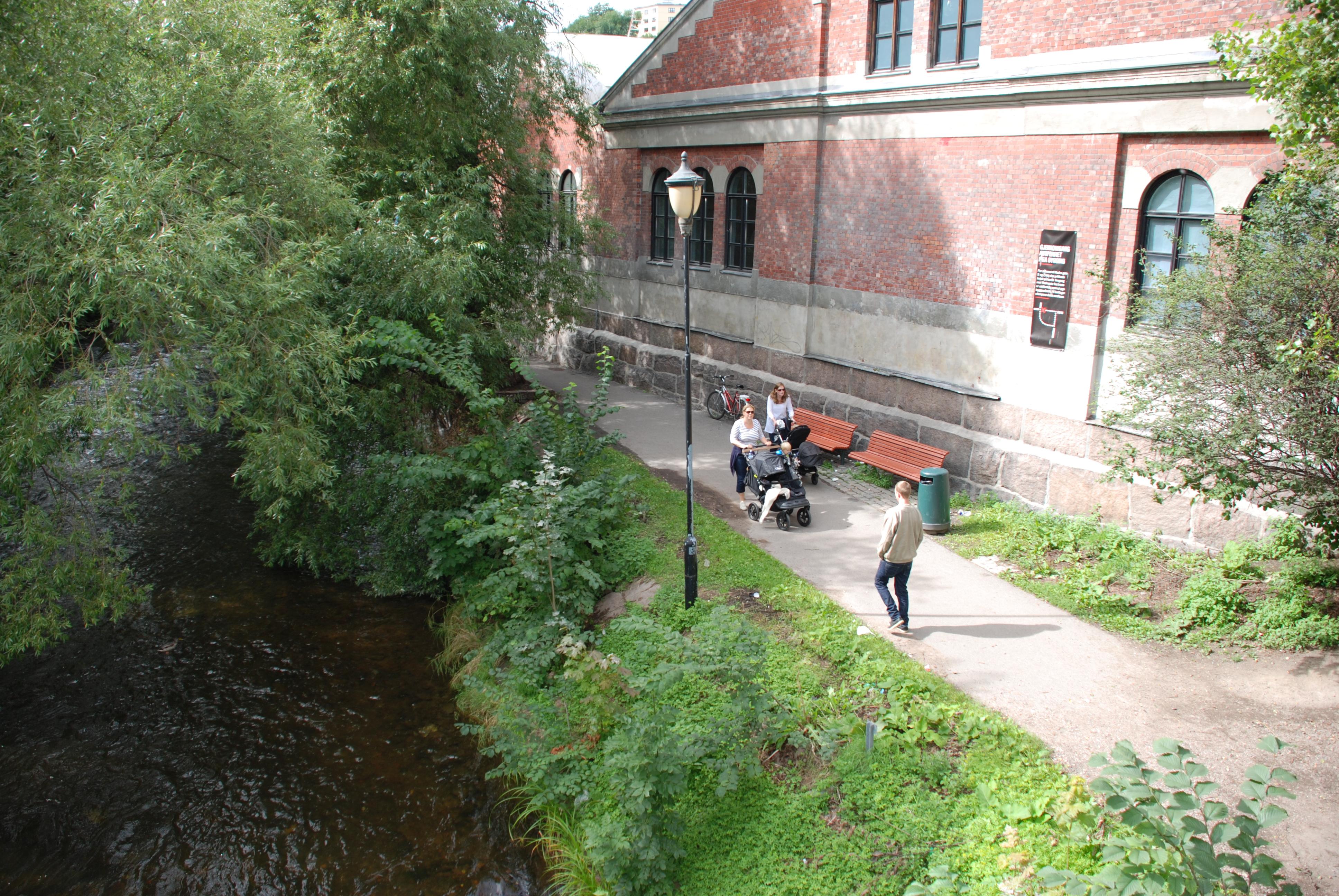 Akerselva Miljopark Industrimuseum Norsk Museumsnettverk For