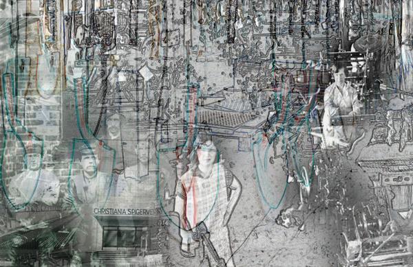 Nydalen Remix, områdevignett Akerselva Digitalt