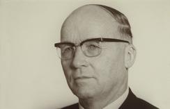Jens E. Ekornes (1908-1976) skapte en av landets ledende møbelfabrikker. Foto: Ekornes<br>