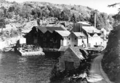 Kvernevik ca 1970-tallet.Foto: Åsane Historielag<br>
