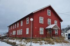 Helly Hansen på Melbu, Sjøgata 3Foto: Lars Sletjord / Museum Nord<br>
