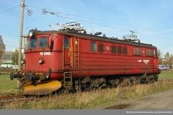 Lokomotiv EL 13 ble bygd mellom 1957 og 1966 i 37 eksemplarer på Thune på Skøyen.Foto: Norsk Jernbanemuseum, Jernbaneverket <br>