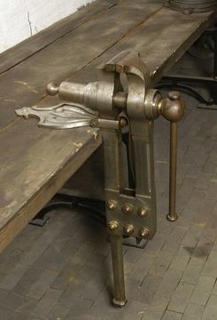 Halvor Thunes svennestykke, utstilt på Teknisk museum