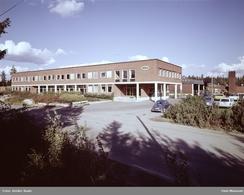 Remfabrikken bygde ny fabrikk på Kolbotn i 1963. Her bilde fra 1971.Foto: Rude / Oslo Museum<br>