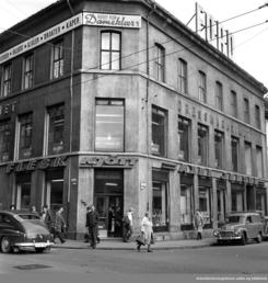 Kjøttforretningen i TorggataFoto: Oslo Museum<br>