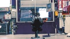 Rørosfabrikken er sterkt automatisert siden 2001Foto: SBSeating<br>