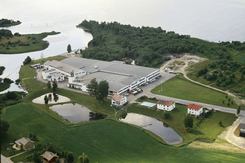 Ekornesfabrikken på Fetsund i 1971
