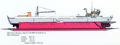 I 1962 anskaffet verkstedet den store flytedokken for dokksetting av større skip.Foto: Made in Drammen<br>