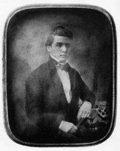 Berendt Blichfeldt (1821-1863) var bedriftesn grunnleggerFoto: Made in Drammen<br>