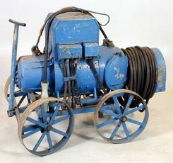 Transportabelt sveiseaggregat fra Akers Mek., NTM 16669