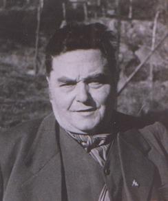 Minde Sjokoladefabrikks grunnlegger, Anton Minde (1878-1945), bilde fra 1930.