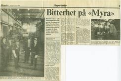 faksimile fra Aftenposten, 23.mars 1988
