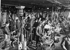 Fra fabrikken i 1911, Foto NTM C 8433