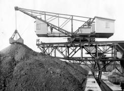 Lastekran fra Drammens Jernstøberi. Laste- og lossekraner var en viktig spesialitet.Foto: Made in Drammen<br>