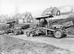 Dravn veihøvler fra mellomkrigstidenFoto: Made in Drammen<br>