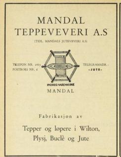 Foto: Fra boken Norsk Produksjon 1948-49<br>