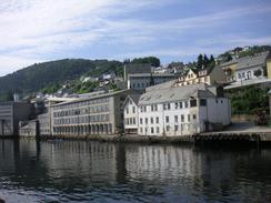 BOmmulevarefabrikken ved SørfjordenFoto: Dag Andreassen<br>