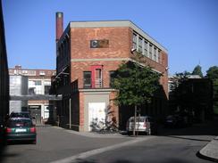 Det såkalte Strykejernet huset i noen åren privat skole for grafisk design.Foto: Dag Andreassen<br>