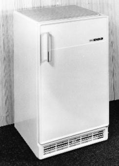 Merket for God Design 1968, KPS kjøle- og fryseskapsserie. Design Tor Jacobsen