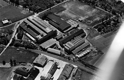 Fabrikken i 1952, Foto: Oslo Byarkiv