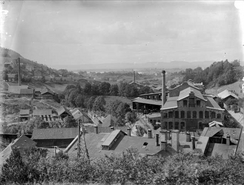 Kværner Brug 1890-årene,  Foto: NTM