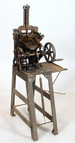 Skriftstøpemaskin fra Max Richard Kirste, NTM 2868