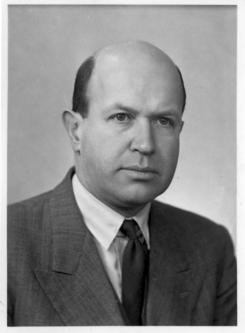 Ragnar Tanberg (1899-1982) var direktør ved Drammen Glassverk fra 1930 til 1964.Foto: Made in Drammen<br>
