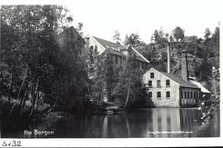 Fossekleven fabrikk ca. 1920