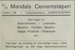 Foto: Sørlandet i tekst og billeder av Olaf Bennece fra 1919<br>