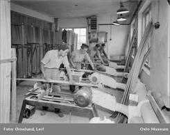 Fra produksjonen i 1951. Foto: Leif Ørnelund/Oslo Museum/www.oslobilder.no