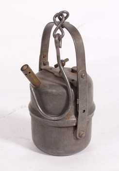 Acetylenlampe for gruver fra Sigurd Stave, NTM 5244