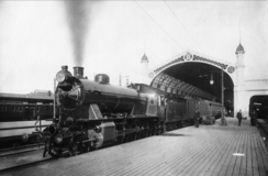Lokomotiv bygget ved Thune i 1911 ved Østbanen, Foto: NTM