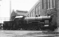 Lokomotiv bygget i 1921 ved Thune, Foto: NTM