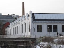 Nye Graag med det karakteristiske shed-taket. Bilde fra 2010.Foto: Dag Andreassen<br>