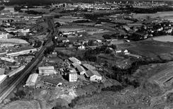 Fabrikken i 1964, Foto: Oslo Byarkiv