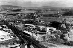 Fabrikken i 1959, Foto: Oslo Byarkiv