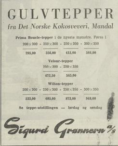 Foto: Annose fra Halden Arbeiderblad 5 -12 1964<br>