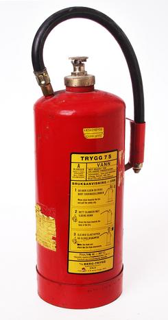 Brannslokkingsapparat produsert av Berg-Trygg A/S, NTM 22393