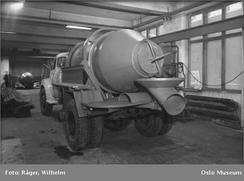 Berger Bergersens Smie og Mek. Verksted i 1960.Foto: Wilhelm Råger/Oslo Museum/www.oslobilder.no