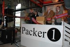 Åpning av ny produksjonslinje for Swell PAcker i Mjøndalen, 2007Foto: Plastforum.no<br>