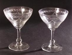 Glass tilhørende heis fra Fortuna, NTM 1010.2