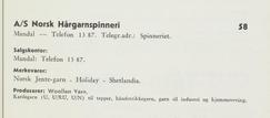Foto: Skann fra Norske tekstiler 1963<br>