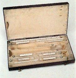 Etui med 6 målere for øltilvirkning en pipett og 1 prøveglass, NTM 5609