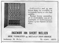 Annonse fra 1952