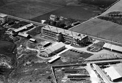 Gresvig fabrikker i 1951, Foto: Oslo Byarkiv