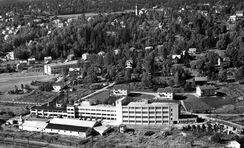 Grorud Jernvarefabrikk i 1956, Foto: Oslo Byarkiv