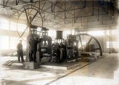Platevalseverket i 1919