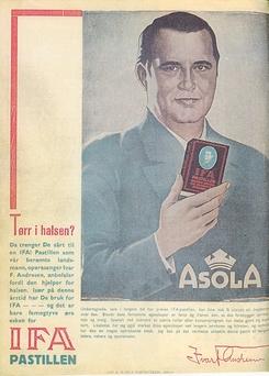 IFA-reklame fra 1935Foto: Nidar<br>