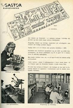 Annonse i Radiohandleren, nr. 2/1951, s. 39. Gjengitt med tillatelse fra Elektronikkbransjen