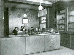 Forretningen på 1930-tallet